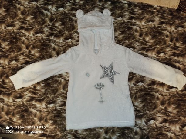 Теплая кофта для ребенка