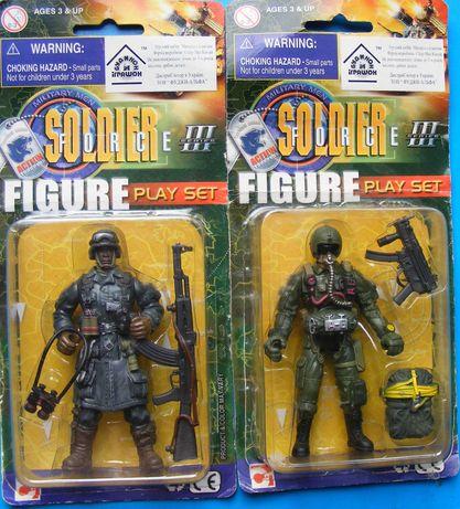 Солдатики, игровые фигуры Soldier Force Series 3, 2005 год