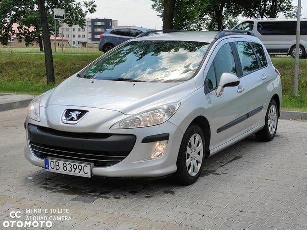 Peugeot 308 308 SW 1.6 HDI 110 km bogate wyposażenie NAVI ,6 biegów ZAREJESTROWANY