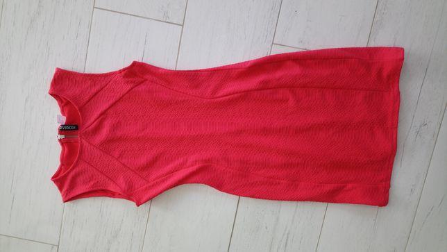 Sukienka koralowa H&M rozm 32 / 158 / xs