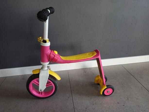 SCOOTandRIDE pierwszy rowerek biegowy i hulajnoga