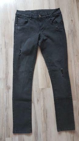 Czarne spodnie rurki Esmara rozmiar L
