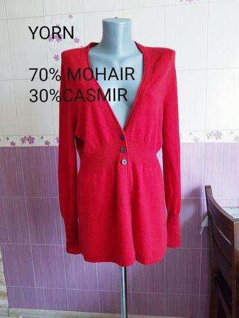 Кашемировый свитер кардиган платье люкс бренда