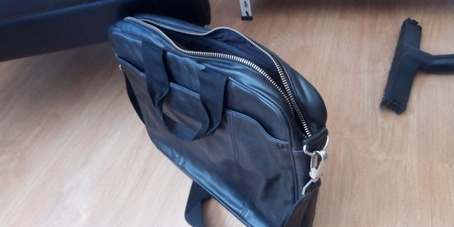 Bolsa de Mensageiro de Couro H&M para portatil laptop PC
