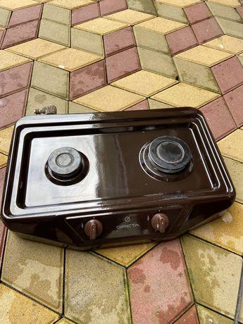 Двухкомфорочная газова плита