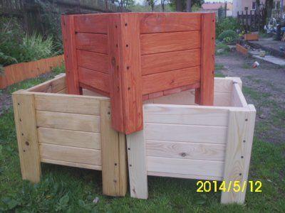 donica drewniana 40x40x40 wyprzedaż !!!