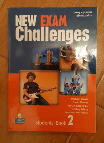 new exam challenges 2 student's book pearson longman używany