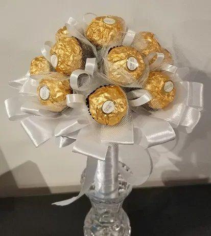 Słodki bukiet z Ferrero Rocher