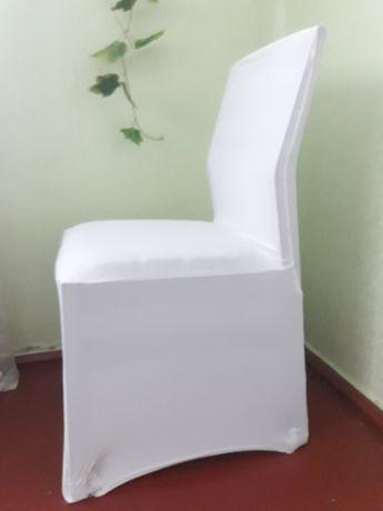 Чохли для стільців білі