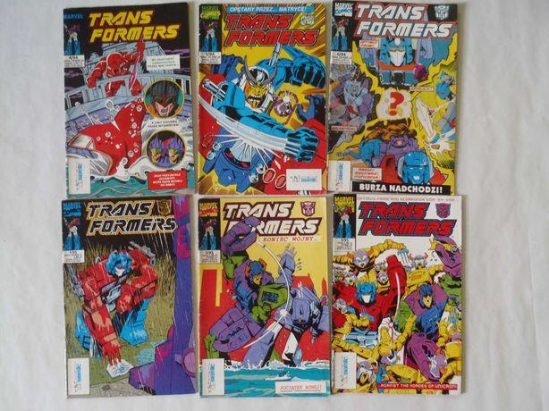 Komiksy Transformers, sprzedam lub wymienię