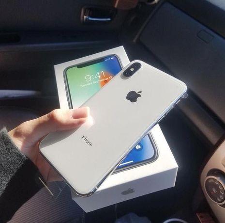 iPhone X silver (серый) 64 GB