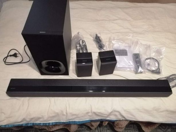 Soundbar Sony HT-ZF9 + 2 dodatkowe głośniki