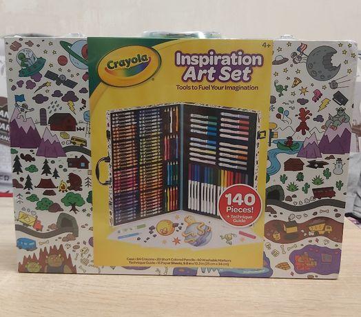 Crayola Inspiration Art Case Крайола Чемодан художника 140 шт. Уценка!