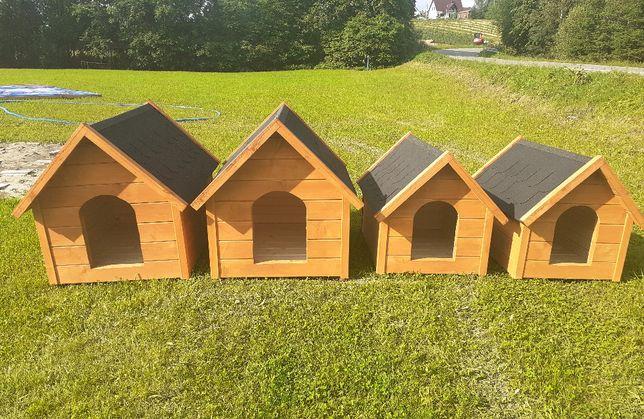 Solidne, drewniane budy dla psa. 4 rozmiary