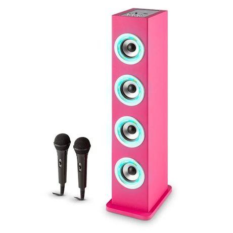 Karaboom LED Głośnik karaoke