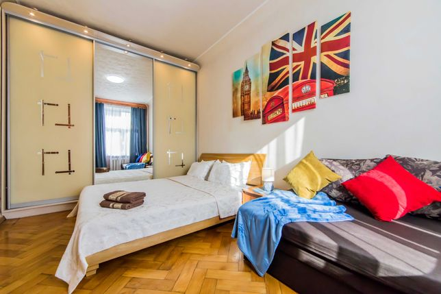 2 к квартира в центре на Олимпийской (Большая Васильковская, 84)