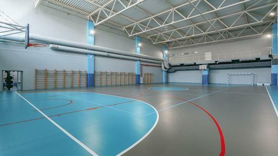 Tarkett Omnisports - спортивний лінолеум, підлога для спортзалу оптом