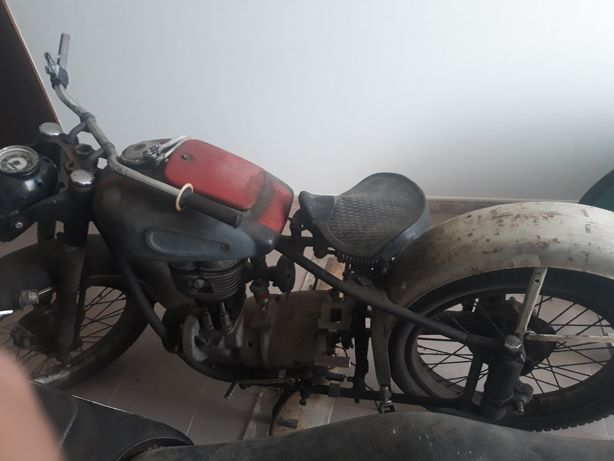 motos BMW R 25/2 0ldtimer para restaurar
