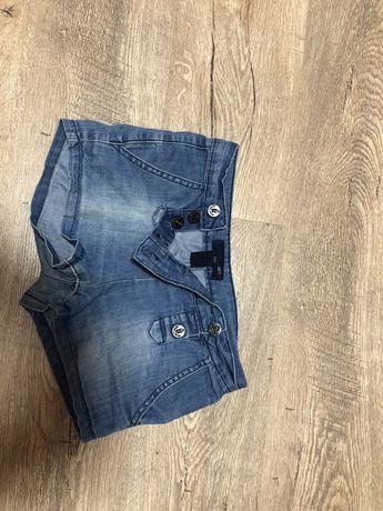 Шортики джинсовые на девочку