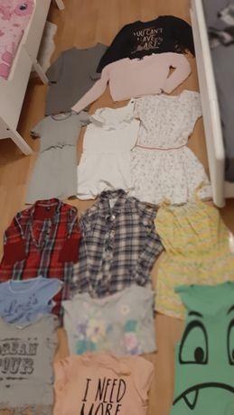 Paka ubrań dla dziewczynki 146-158 lat 10-13