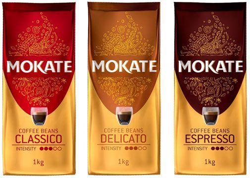 Кофе в зернах _ Зерновой Кофе Mokate опт и розница