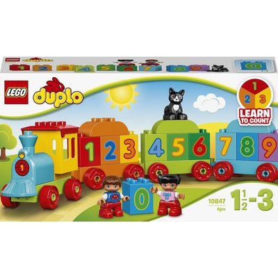 Лего дупло lego duplo поезд 10848