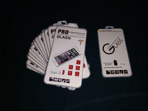 Лучшее прочное защитное стекло Pro Glass для Doogee x5 x6