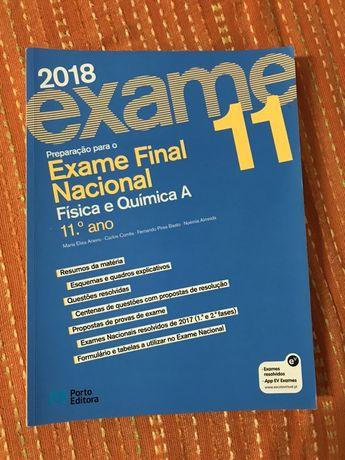 Livro de preparacao exame nacional fisica quimica 11 ano
