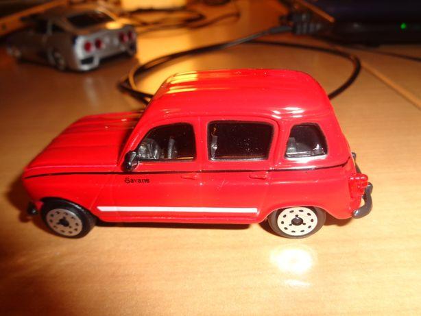 Carrinha Miniatura 4L 1/43 Burago Vermelha Oferta Envio