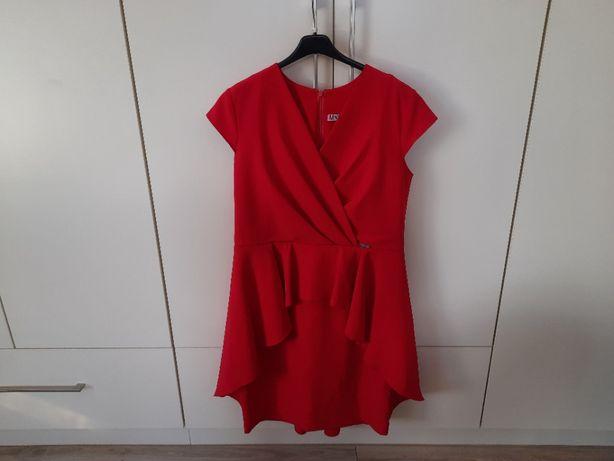Sukienka czerwona rozmiar 42