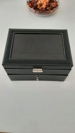 Caixa para relógios e jóias