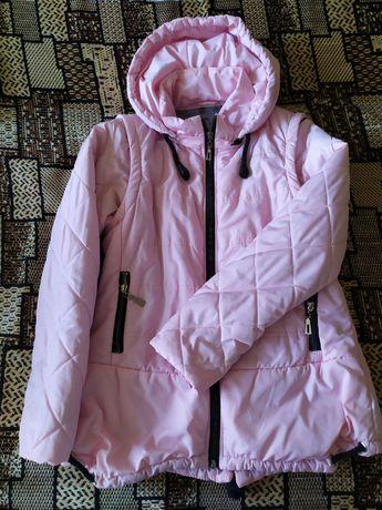 Демисезонная куртка- жилетка