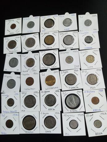 Monety mix przedwojenne PRL zagraniczne