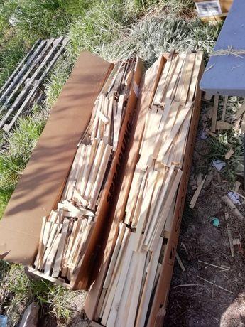 Sprzedam pocięte oraz poukładane drewno na rozpałkę.