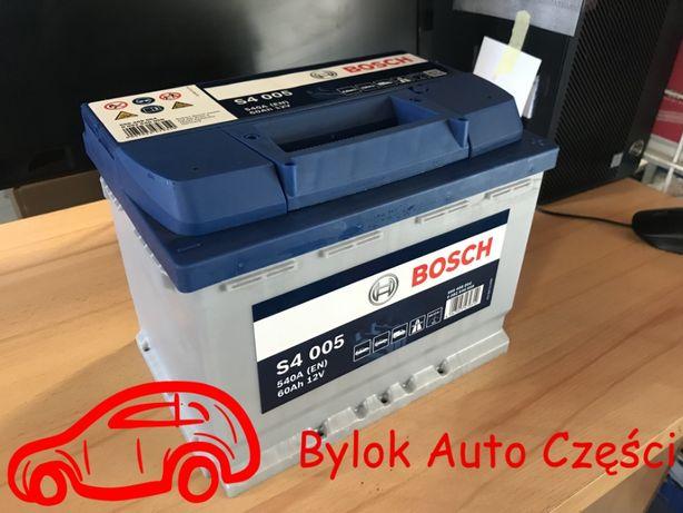"""AKUMULATOR 60AH/540A """"Bosch"""" NOWY!!! """"Bylok Auto Części"""" Gliwice"""