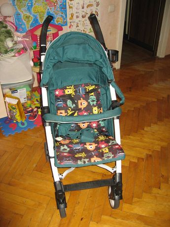 Прогулочная коляска трость CARRELLO Allegro  Monster Green