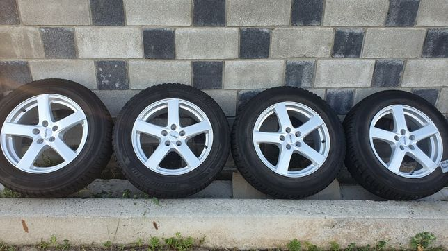 Диски с резиною R17 5/112 VW Sharan Touran Tiguan Seat Altea Alhambra