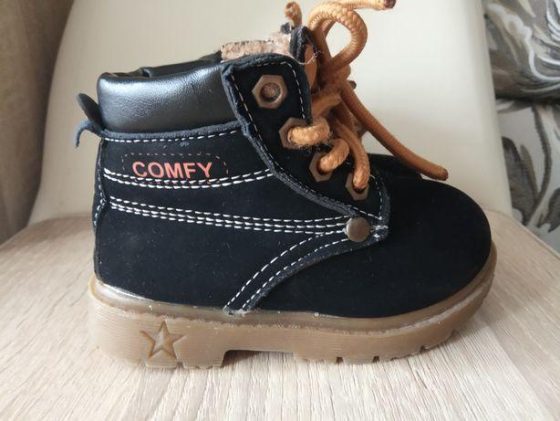 Зимові черевички для хлопчика COMFY.Ботинки.21р.