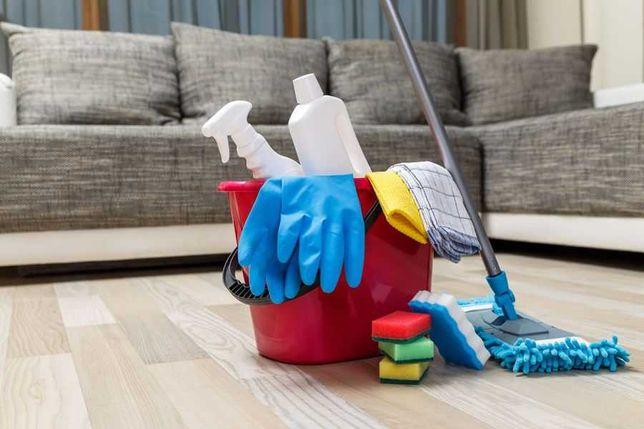 Sprzątanie mieszkań, domów, biur
