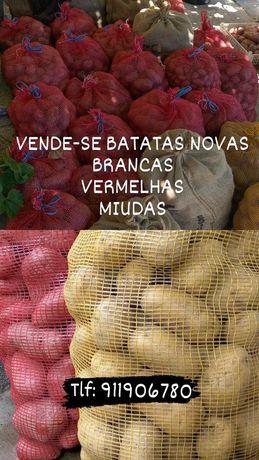Batatas Novas (25kilos saco)