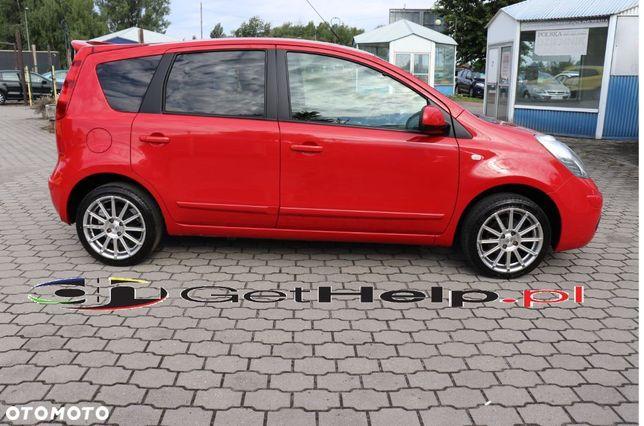 Nissan Note 1.6i 110 KM SPORTLINE Klimatronik WEBASTO 1 Właściciel Gwarancja