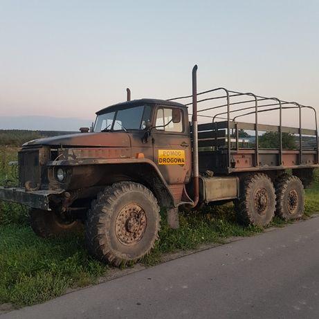 Ural 375d 6x6 diesel kamaz v8 faktura vat pomoc drogowa off road UAZ