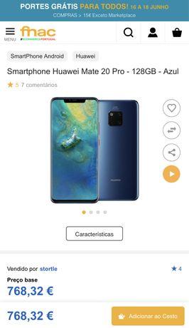Huawei Mate 20 Pro 128 GB - Azul