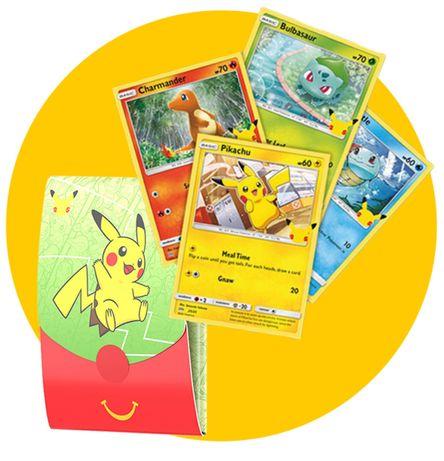Cartas Pokémon McDonals