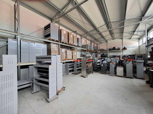 Zabudowy serwisowe warsztatowe dobór i montaż , nowe i używane podłogi