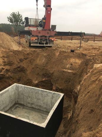 Szamba betonowe sprzedaż - montaż