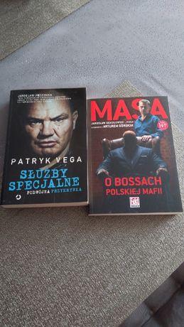 Komplet Patryk Vega Służby specjalne Masa O bossach polskiej mafii