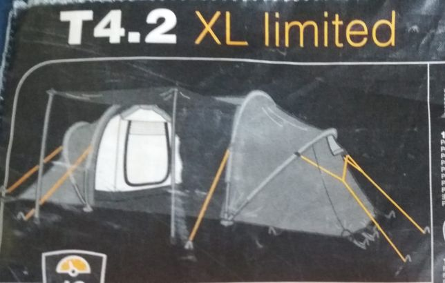Tenda Quechua T4.2 XL limited para 4 pessoas