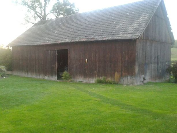 Rozbiórka , stodoła, skup desek, stare belki, wymiana desek.