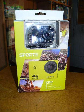 Экшен видеокамера V3 4K, WiFi, аналог GoPro. Full HD 4K.